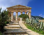Italy, Sicily, Segesta: doric temple