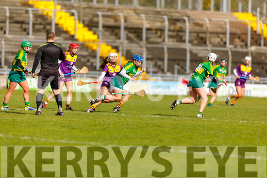 Action from Kerry v Wexford in the National Camogie league Division 2, in Austin Stack Park on Sunday