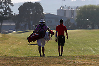 Dominic Brettkelly during the New Zealand Amateur Golf Championship, Poverty Bay Golf Course, Awapuni Links, Gisborne, Friday 23 October 2020. Photo: Simon Watts/www.bwmedia.co.nz