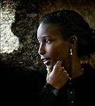 Nederland, Den Haag, 18-01-2005, VVD Politica Ayaan Hirsi Ali,. foto © Michael Kooren/