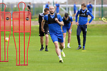 St Johnstone Training...14.08.21<br />Chris Kane pictured during the final training session at McDiramid Park before heading to Austria to face Lask in the Europa Conference League qualifier.<br />Picture by Graeme Hart.<br />Copyright Perthshire Picture Agency<br />Tel: 01738 623350  Mobile: 07990 594431