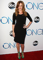 HOLLYWOOD, LOS ANGELES, CA, USA - SEPTEMBER 21: Rebecca Mader arrives at the Los Angeles Screening Of ABC's 'Once Upon A Time' Season 4 held at the El Capitan Theatre on September 21, 2014 in Hollywood, Los Angeles, California, United States. (Photo by Celebrity Monitor)