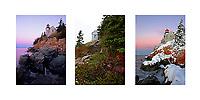 Bass Harbor Light Collage