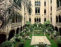 Isabella Stuart Gardner Museum courtyard, Boston, MA