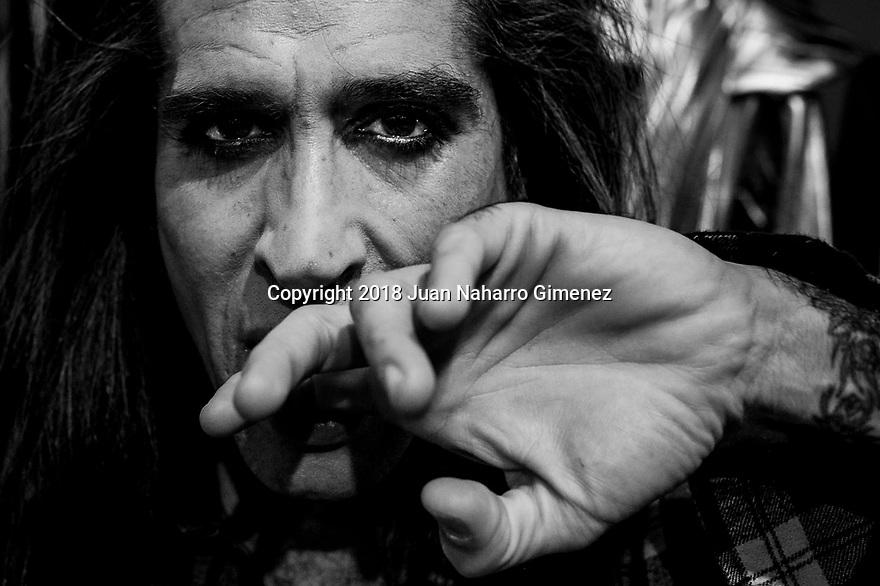 Mario Vaquerizo poses during a portrait session.