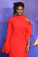 """Clara Amfo<br /> arriving for the """"Aladdin"""" premiere at the Odeon Luxe, Leicester Square, London<br /> <br /> ©Ash Knotek  D3500  09/05/2019"""
