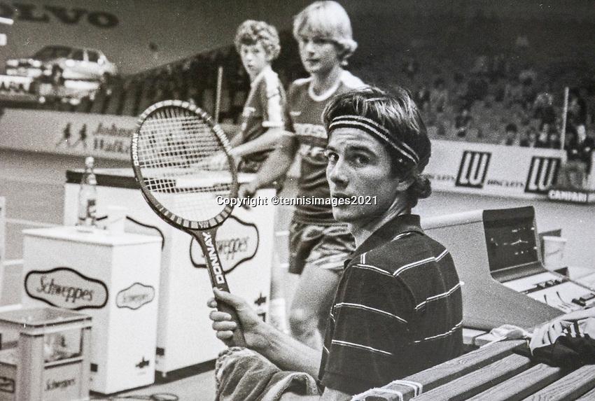 Belgium, Antwerp, December 1982,  ECC,   Eric Wilborts (NED) <br /> Photo: www.tennisimages.com/Henk Koster