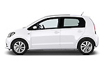 Car Driver side profile view of a 2014 Seat MII Style 5 Door Hatchback 2WD Side View