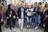 """Milano, 02 marzo 2019, grande manifestazione popolare """"People - prima le persone"""", più di 200mila in piazza, 1200 associazioni ed organizzazioni no-profit contro fascismo, razzismo ed ogni forma di discriminazione<br /> <br /> - Milan, Mars 02, 2019, large popular event """"People - first the persons"""", more than 200 thousand in the square, 1200 associations and non-profit organizations against fascism, racism and all forms of discrimination"""