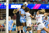 Stanford, CA - December 8, 2019: Madison Haley at Avaya Stadium. The Stanford Cardinal won their 3rd National Championship, defeating the UNC Tar Heels 5-4 in PKs after the teams drew at 0-0.