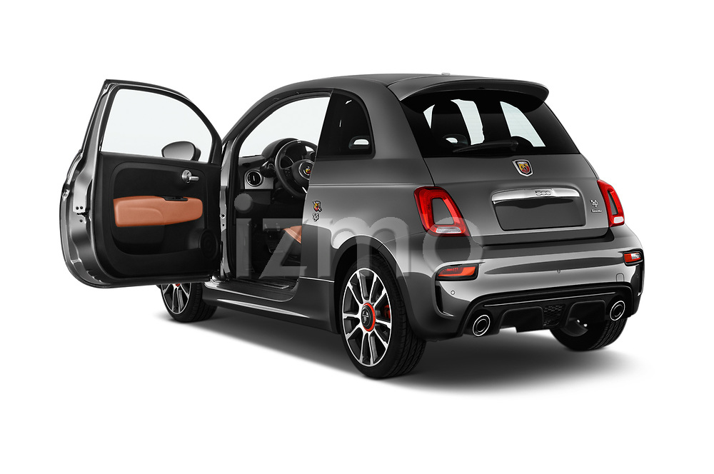 Car images close up view of a 2018 Abarth 595 Turismo 3 Door Hatchback doors