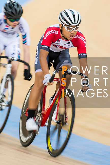 Choi Kwan Lok of SCAAvcompetes in the Omnium category during the Hong Kong Track Cycling Race 2017 Series 6 at Hong Kong Velodrome on 12 March 2017, in Hong Kong, China. Photo by Marcio Rodrigo Machado / Power Sport Images