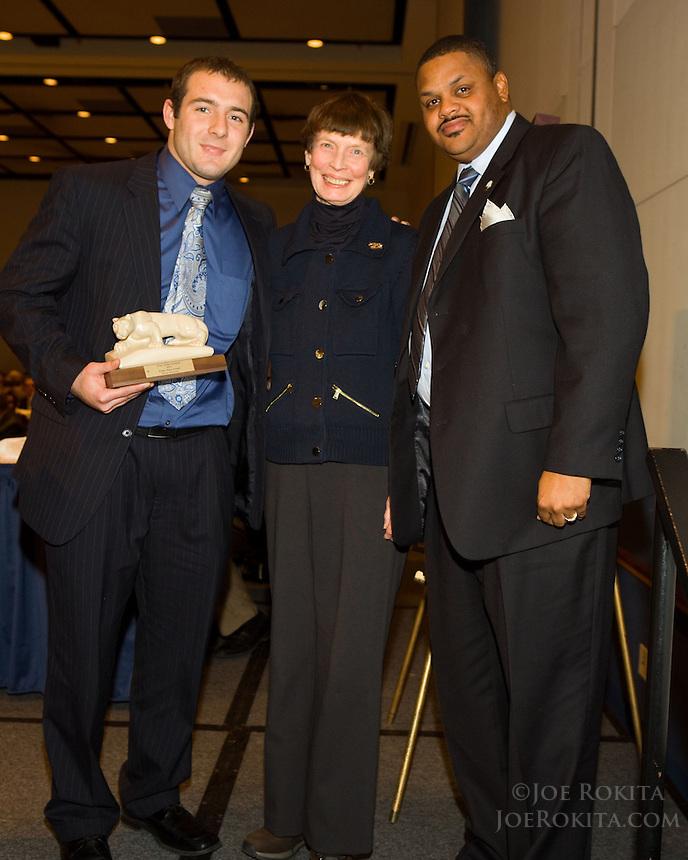 State College, PA - 12/11/2011:  State College Quarterback Club 2011 Penn State football senior awards banquet...Photo:  Joe Rokita / JoeRokita.com..Photo ©2011 Joe Rokita Photography