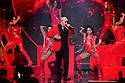 CORAL GABLES, FLORIDA - JULY 22: Pitbull performs onstage at Premios Juventud 2021 at Watsco Center on July 22, 2021 in Coral Gables, Florida. (Photo by Johnny Louis / jlnphotography.com )