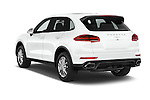 Car pictures of rear three quarter view of 2017 Porsche Cayenne - 5 Door SUV Angular Rear