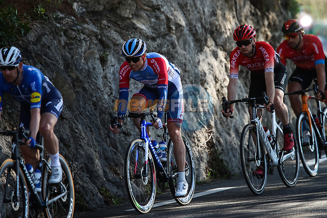 Edvald Boasson Hagen (NOR) Total Direct Energie during Stage 8 of Paris-Nice 2021, running 92.7km from Le Plan-du-Var to Levens, France. 14th March 2021.<br /> Picture: ASO/Fabien Boukla | Cyclefile<br /> <br /> All photos usage must carry mandatory copyright credit (© Cyclefile | ASO/Fabien Boukla)