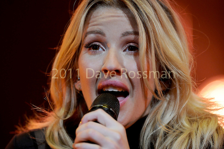 Ellie Goulding performs during her Delirium Tour at the Toyota Center Saturday May 21,2016(Dave Rossman Photo)