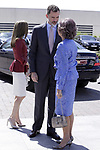 King Felipe VI of Spain and Queen Sofia during the 40th anniversary of Reina Sofia Alzheimer Foundation. May 21 ,2017. (ALTERPHOTOS/Pool)