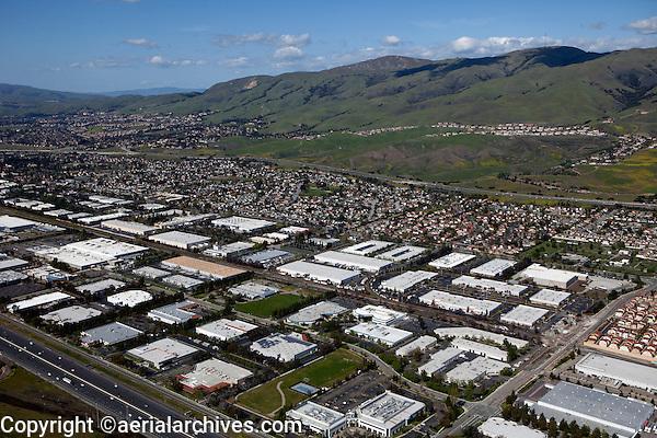 aerial photograph Fremont, Alameda County, California