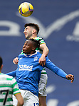 02.05.2121 Rangers v Celtic: Greg Taylor and Joe Aribo