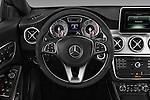 Car pictures of steering wheel view of a 2016 Mercedes Benz CLA Class CLA250 4 Door Sedan Steering Wheel