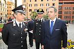ALESSANDRO RUBEN CON I GENERALI  VITTORIO TOMASONE E ALESSANDRO CASARSA<br /> CELEBRAZIONE DEI 60 ANNI DELLO STATO D'ISRAELE TEATRO DELL'OPERA ROMA 2008