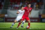 Hong Kong vs Qatar during their FIFA World Cup Qualifiers 2015 on September 08, 2015 at the Mong Kok stadium in Hong Kong, China. Photo by Moses NG / Power Sport Images