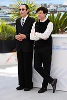 CANNES, FRANCE. July 6, 2021: Ron Mael & Russell Mael at the photocall for Annette at the 74th Festival de Cannes.<br /> Picture: Paul Smith / Featureflash