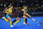 NZ's Rose Keddell in action during the Sentinel Homes Trans Tasman Series hockey match between the New Zealand Black Sticks Women and the Australian Hockeyroos at Massey University Hockey Turf in Palmerston North, New Zealand on Tuesday, 1 June 2021. Photo: Dave Lintott / lintottphoto.co.nz