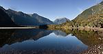Sutherland Sound. Fiordland National Park. New Zealand.