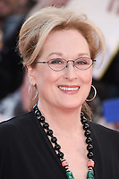 """Meryl Streep<br /> arrives for the """"Florence Foster Jenkins"""" European premiere at the Odeon Leicester Square, London<br /> <br /> <br /> ©Ash Knotek  D3106 12/04/2016"""