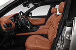 Front seat view of a 2017 Maserati Levante Base 5 Door SUV front seat car photos