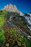 Reynolds Creek and Mt. Clements<br /> Logan Pass<br /> Glacier National Park<br /> Rocky Mountians, Montana