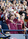 13/05/2006         Copyright Pic: James Stewart.File Name : sct_jspa12_hearts_v_gretna.HEARTS CAPTAIN STEEVEN PRESSLEY LIFTS THE SCOTTISH CUP........Payments to :.James Stewart Photo Agency 19 Carronlea Drive, Falkirk. FK2 8DN      Vat Reg No. 607 6932 25.Office     : +44 (0)1324 570906     .Mobile   : +44 (0)7721 416997.Fax         : +44 (0)1324 570906.E-mail  :  jim@jspa.co.uk.If you require further information then contact Jim Stewart on any of the numbers above.........