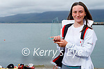 Eimer McMorrow Moriarty from Fenit who was a winner at the 2021 ILCA 4.7 World Youth Sailing Championships in Dun Laoghaire last weekend