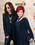 Ozzy Osbourne & Sharon Osbourne at the Spike TV 4th annual Guys Choice held at Sony Studio in Culver City, California on June 05,2010                                                                               © 2010 Debbie VanStory / Hollywood Press Agency
