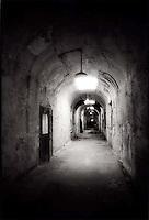 Long dark hallway<br />