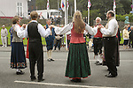 Norwegian Native dress St. Olav Festival,Torshavn, Faroe Islands