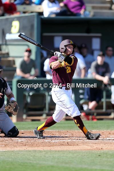 Jake Peevyhouse - 2014 Arizona State Sun Devils (Bill Mitchell)