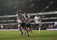 04.03.2015.  London, England. Barclays Premier League. Tottenham Hotspur versus Swansea City. Tottenham Hotspur's Ryan Mason celebrates his goal. ; Mason was made interim team manager for 2021 season after Spurs sacked Jose Mourinho. Mason retired from playing for Tottenham after suffering a fractured skull in a game in early 2017 at Hull.