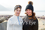 Enjoying a stroll on Rossbeigh beach on Tuesday, l to r: Veronica and Aisling Sugrue from Glenbeigh.