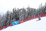 FIS Alpine Ladies Ski World Cup 2021 . Kronplatz, Plan De Corones, Italy on January 26, 2021. In action Sofia Goggia
