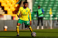9th January 2021; Carrow Road, Norwich, Norfolk, England, English FA Cup Football, Norwich versus Coventry City; Bali Mumba of Norwich City