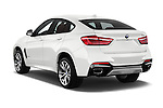 Car pictures of rear three quarter view of 2018 BMW X6 sDrive35i 5 Door SUV Angular Rear
