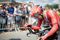 Michael Matthews (AUS/Sunweb) clearly went all the way during the TTT<br /> <br /> Stage 2 (TTT): Brussels to Brussels (BEL/28km) <br /> 106th Tour de France 2019 (2.UWT)<br /> <br /> ©kramon