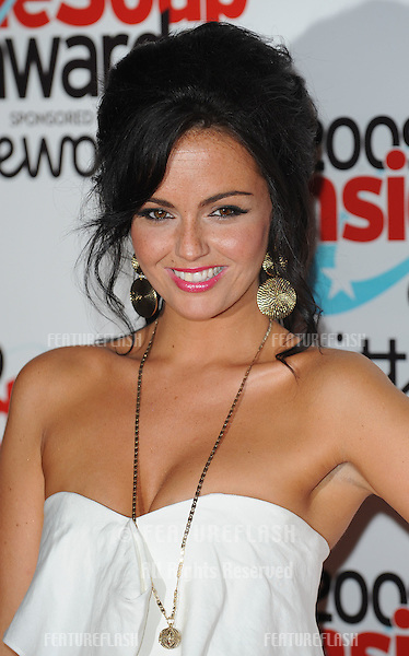 Jennifer Metcalfe at the Inside Soap Awards .at Sketch in London. 28/09/ 2009.Picture By: Gerry Copper / Featureflash..