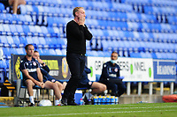 Steve Cooper Head Coach of Swansea City looks dejected during the Sky Bet Championship match between Reading and Swansea City at the Madejski Stadium in Reading, England, UK. Wednesday 22 July 2020.