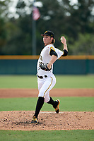 Pittsburgh Pirates pitcher Blake Cederlind (70) delivers a pitch during an Instructional League game against the New York Yankees on September 28, 2017 at Pirate City in Bradenton, Florida.  (Mike Janes/Four Seam Images)