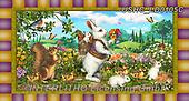 Liz,EASTER, OSTERN, PASCUA, LizDillon, paintings+++++,USHCLD0105C,#E#, EVERYDAY ,white rabbit