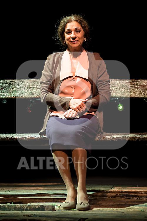"Spanish singer Lolita, present the theater play ""La plaza del diamante"" at Teatro Bellas Artes in Madrid, February 16, 2016<br /> (ALTERPHOTOS/BorjaB.Hojas)"